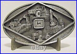 John Deere 648E Log Skidder 544G Loader 670A Grader 690DLC Excavator Belt Buckle