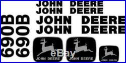 John Deere 690B Excavator Decal Set JD Decals