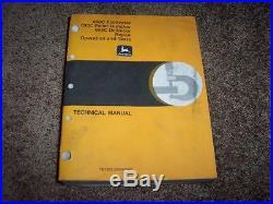 John Deere 690C Excavator 693C Feller Buncher Shop Repair Service Manual TM1323