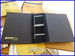 John Deere 690DR Excavator TM, OM, PC, and 2 engine manuals. 5 Vol Set