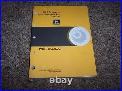 John Deere 690D Excavator 693D 690DR Feller Buncher Parts Catalog Manual PC2151