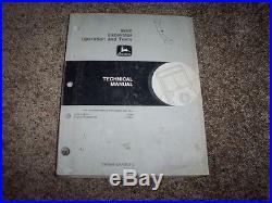 John Deere 690E Excavator Operation & Test Shop Repair Technical Manual TM1508