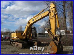 John Deere 690E LC Hydraulic Excavator Hyd Thumb 140HP 2-Spd Cab bidadoo