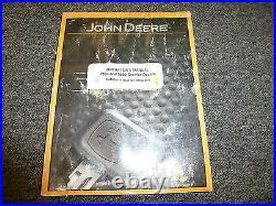John Deere 750J & 850J Crawler Dozer Owner Operator Maintenance Manual OMT202117