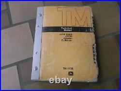 John Deere 750 Crawler Dozer Bulldozer Shop Service Repair Manual TM1136