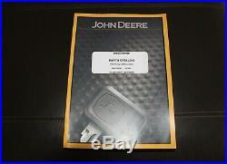 John Deere 75g Compact Excavator Parts Catalog Manual Pc11199