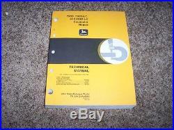 John Deere 790D 790D-LC 892D-LC Excavator Shop Service Repair Technical Manual