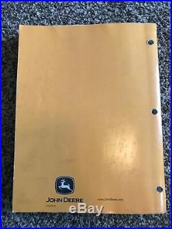 John Deere 790D-LC 892D-LC Excavator Technical Repair Shop Manual TM1396