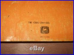 John Deere 790d 892d-lc Excavator Technical Service Op / Test Manual Tm-1395