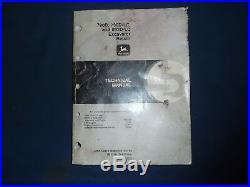 John Deere 790d-lc 892d-lc Excavator Technical Service Shop Repair Manual Tm1396