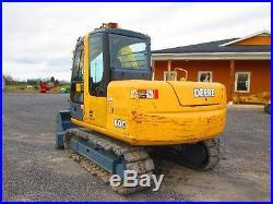 John Deere 80C Farm Tractor Dozer Excavator