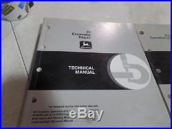 John Deere 80 Excavator Operation, Test & Repair Technical Manual Tm1655 & Tm165
