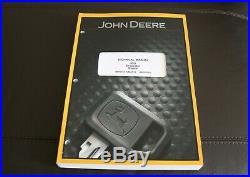 John Deere 85d Excavator Repair Service Technical Manual Tm10755