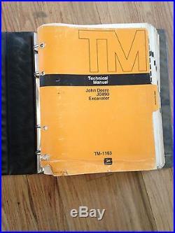 John Deere 890 Excavator TM