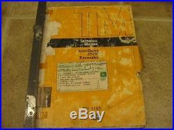 John Deere 890 Excavator Technical Service Manual TM1163 JD890
