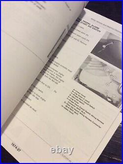 John Deere 892E LC Excavator Technical Service Repair Shop Manual TM1542 Book