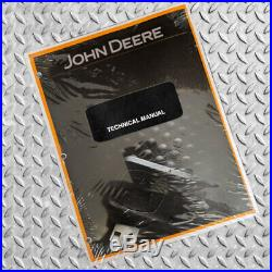 John Deere 990 Excavator Technical Service Repair Workshop Manual TM1230