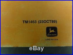 John Deere 992D-LC Excavator Technical Manual TM1463'89