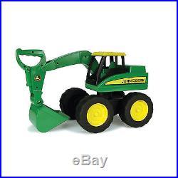 John Deere Big Scoop Loader Excavator Dump Box Sandpit Toy Kids Pushing Toy