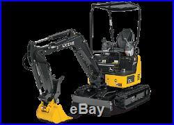 John Deere Deer Excavator Quick Change Tach Attach Bucket Ears Attachment 17