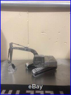 John Deere Desk Pen Set Award Pewter 690 E LC 690E LC Excavator Spec Cast JDM092