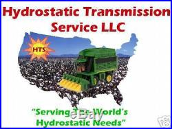 John Deere Excavator 892D Hydrostatic VariableTravel Motor