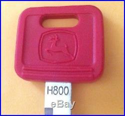John Deere Excavator & Heavy Equipment Key, Factory Original OEM Logo H800
