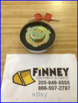 John Deere Excavator Locking Fuel Cap with Keys 4361638