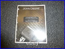John Deere GT245 Lawn Garden Tractor Technical Repair Service Shop Manual TM1756