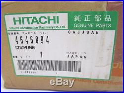 John Deere Hitachi Coupling 4646894 Oem Brand New Tractor Backhoe Excavator 005