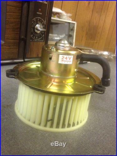 John Deere/Hitachi Excavator 24V Replacement Blower Motor with Impeller