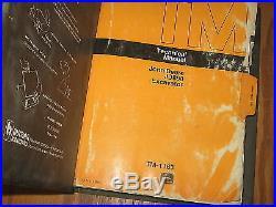 John Deere JD890 890 Excavator Technical Service Manual