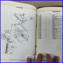 John Deere JD 690B EXCAVATOR PARTS MANUAL CATALOG BOOK LIST BINDER GUIDE PC 2167