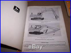 John Deere Jd690 Excavator Parts Manual