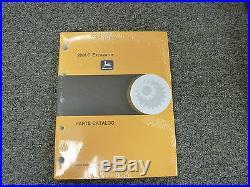 John Deere Model 200LC Excavator Parts Catalog Manual Book Dec 98 PC2561