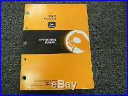 John Deere Model 230LC Excavator Owner Operator Maintenance Manual OMT184910