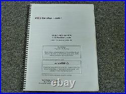 John Deere Model 410G Backhoe Loader Owner Operator Maintenance Manual OMT201153