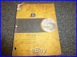 John Deere Model 892E LC Excavator Shop Service Repair Technical Manual TM1542
