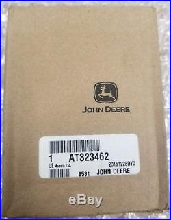 John Deere OEM part # AT323462 fuel filler tank cap excavator feller buncher