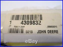 John Deere Relief Valve 4309832 Oem Brand New Tractor Backhoe Excavator 005