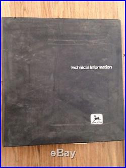John Deere Technical Manual 890 Excavator