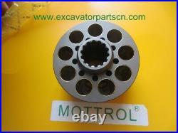 K5v200dph pump parts, cylinder block, valve plate L, set plate, shoe plate, piston