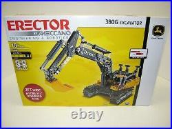 Kids Toys/ Big Farm Line 380g Excavator Erector Set Nib Age 10+