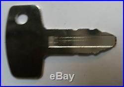 Kubota john deere Excavator Key KX KX-2 -Mini Digger Key 53630 Spare Key x1