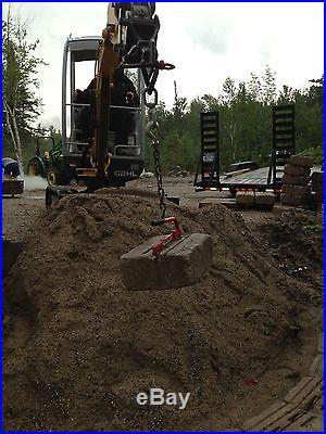 Mini Excavator Lift Tool