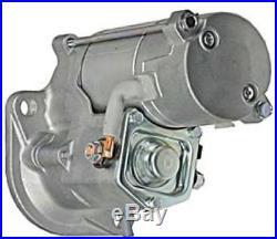 NEW 12V 9T STARTER JOHN DEERE MINI EXCAVATOR 50C ZTS 4LE2 ENGINE 8971128652