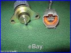 NEW OEM JOHN DEERE TRACTOR/EXCAVATOR FUEL SHUT OFF SOLENOID M810324 MODELS BELO