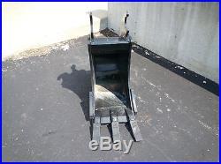 New 12 John Deere 50 ZTS Heavy Duty Excavator Bucket
