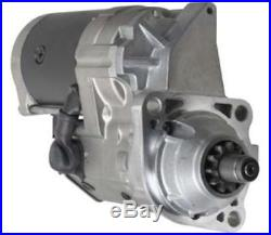 New 24v 11 Tooth Starter Motor Fits John Deere Excavator 228000-6571 228000-6570