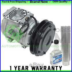 New A/C Compressor and Clutch Kit Fits John Deere 200LC Excavator AT215510